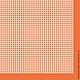 Декупаж и роспись ручной работы. Ярмарка Мастеров - ручная работа. Купить Мелкая клетка на оранжевом (SLOG022111) - салфетка для декупажа. Handmade.