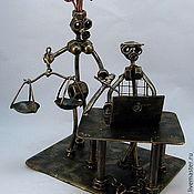 Model handmade. Livemaster - original item Lawyer-