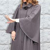 Одежда ручной работы. Ярмарка Мастеров - ручная работа Пальто с крылышками из шерсти на вискозной подкладке. Handmade.