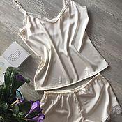 """Одежда handmade. Livemaster - original item Sleepwear """"Crema"""". Handmade."""