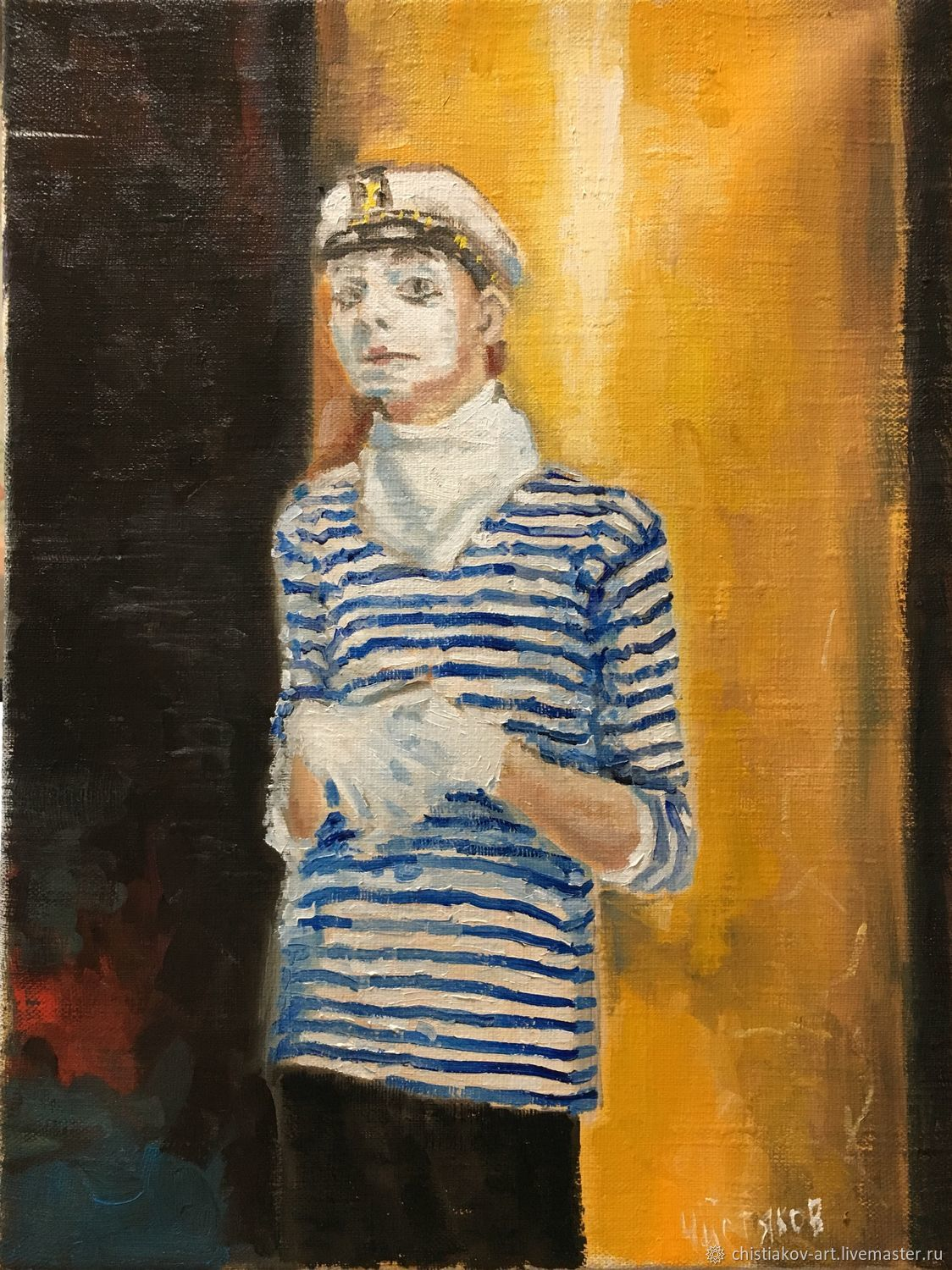 The painting 'King of the streets' oil on canvas 40-30 cm, Pictures, St. Petersburg,  Фото №1