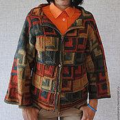 """Одежда ручной работы. Ярмарка Мастеров - ручная работа Жакет """"Мозаика"""". Handmade."""