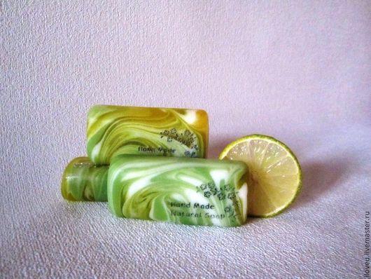 """Мыло ручной работы. Ярмарка Мастеров - ручная работа. Купить Мыло """"Четыре цитруса"""", цитрусовый, зеленый, подарок на 23 февраля. Handmade."""