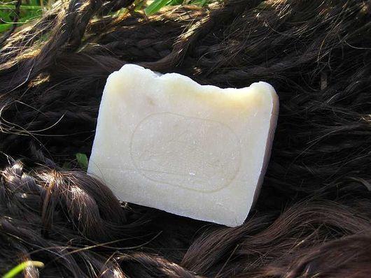 """Мыло-шампунь ручной работы. Ярмарка Мастеров - ручная работа. Купить шампуневое мыло с нуля """"Несмеяна"""". Handmade. Бежевый, подарок"""