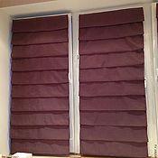 Для дома и интерьера ручной работы. Ярмарка Мастеров - ручная работа Римские шторы на подкладке. Handmade.