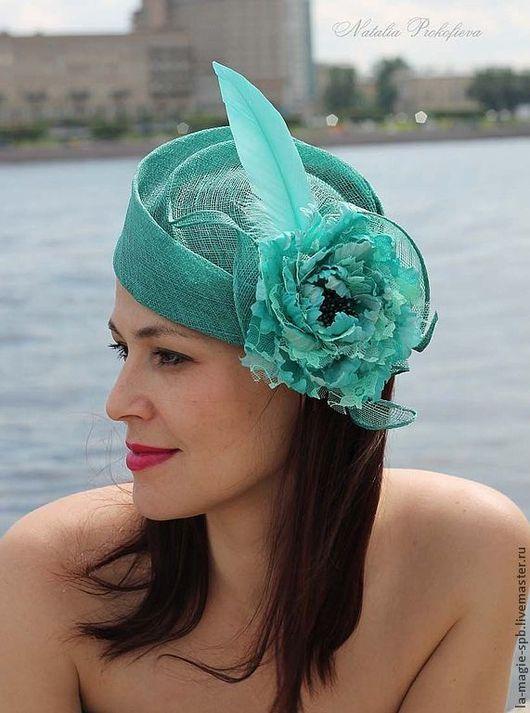 """Шляпы ручной работы. Ярмарка Мастеров - ручная работа. Купить Эксклюзивная шляпка """"La petite Sirene"""" (Русалочка). Handmade."""