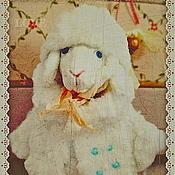 Куклы и игрушки ручной работы. Ярмарка Мастеров - ручная работа Авторская выкройка овечка. Handmade.