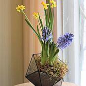 Цветы и флористика handmade. Livemaster - original item Floriana spring with primroses. Handmade.