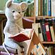 Игрушки животные, ручной работы. Ярмарка Мастеров - ручная работа. Купить Большие сказки маленького мышонка. Handmade. Мышь