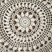 Для дома и интерьера ручной работы. Ярмарка Мастеров - ручная работа Большие салфетки (2 вида). Handmade.