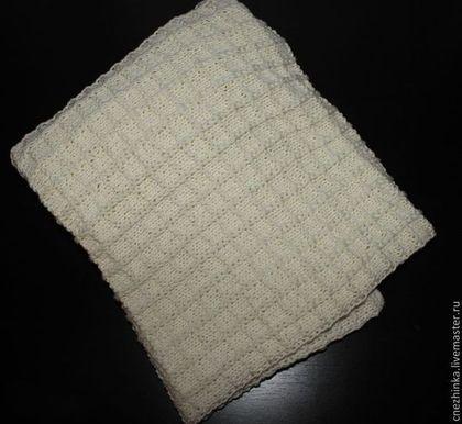 """Пледы и одеяла ручной работы. Ярмарка Мастеров - ручная работа Пледик для новорожденного """"Вафелька"""". Handmade."""