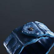 handmade. Livemaster - original item Crocodile Leather Bracelet IMA0330UC3. Handmade.