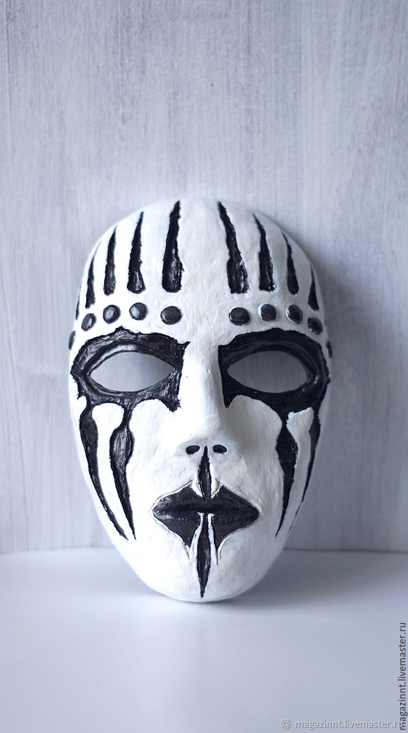 Joey Jordison mask new band drummer mask Hard Rock Slipknot masks – shop  online on Livemaster with shipping - CVLUTCOM | Moscow