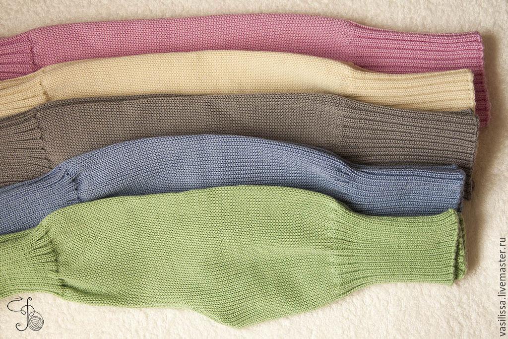 Вязать штаны резинкой