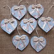Подарки к праздникам handmade. Livemaster - original item Hearts Valentines. Handmade.