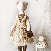 """Куклы и игрушки ручной работы. Ярмарка Мастеров - ручная работа Кошка """"Я не сказала """"да"""", милорд..."""". Handmade."""