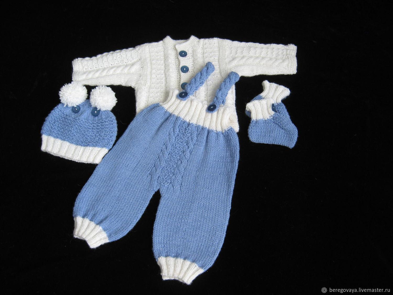Комплект для новорожденных Небесный, Комплекты одежды для малышей, Бийск,  Фото №1