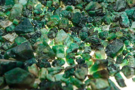 Изумруд уральский (зелёные бериллы) 0,5-3 см (665,26гр)