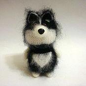 Куклы и игрушки ручной работы. Ярмарка Мастеров - ручная работа Собачка хаски. Handmade.