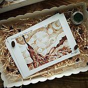 Открытки handmade. Livemaster - original item Set of postcards