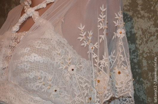 """Платья ручной работы. Ярмарка Мастеров - ручная работа. Купить """"Ar  Deco"""" эксклюзивное платье ручной работы. Handmade. Бежевый"""