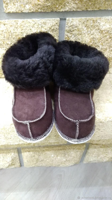 Baby fur socks, Slippers, Cheboksary,  Фото №1
