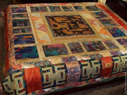 Текстиль, ковры ручной работы. Ярмарка Мастеров - ручная работа. Купить Покрывало   Золотой Египет. Handmade. Фараон, текстиль в интерьере
