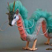 Куклы и игрушки handmade. Livemaster - original item Dragon Haku from the animated film