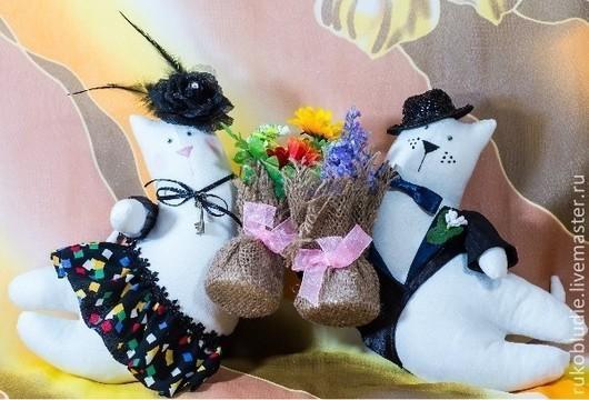 Игрушки животные, ручной работы. Ярмарка Мастеров - ручная работа. Купить Летающие коты. Handmade. Кот игрушка, подарок ребенку