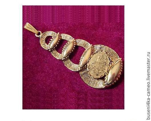 Для украшений ручной работы. Ярмарка Мастеров - ручная работа. Купить Основа для подвески Будда 13х18мм, ант.золото (1шт). Handmade.