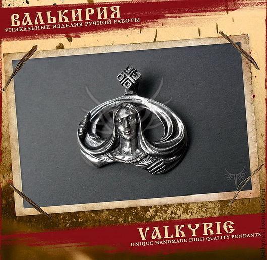 """Подвески ручной работы  из серебра 925 пробы.Оберег """"Макошь"""".Мастерская Валькирия."""