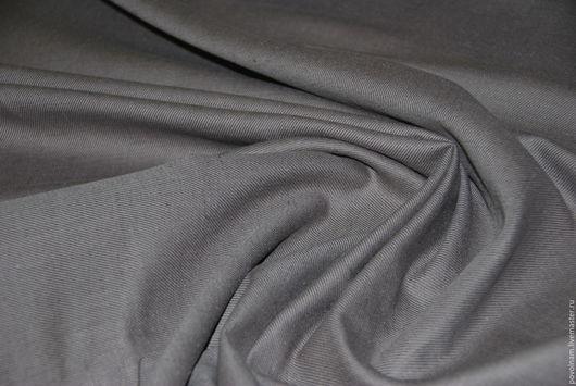 """Шитье ручной работы. Ярмарка Мастеров - ручная работа. Купить Лён с шерстью """"Романс"""" мягкий. Handmade. Серый, ткань для одежды"""