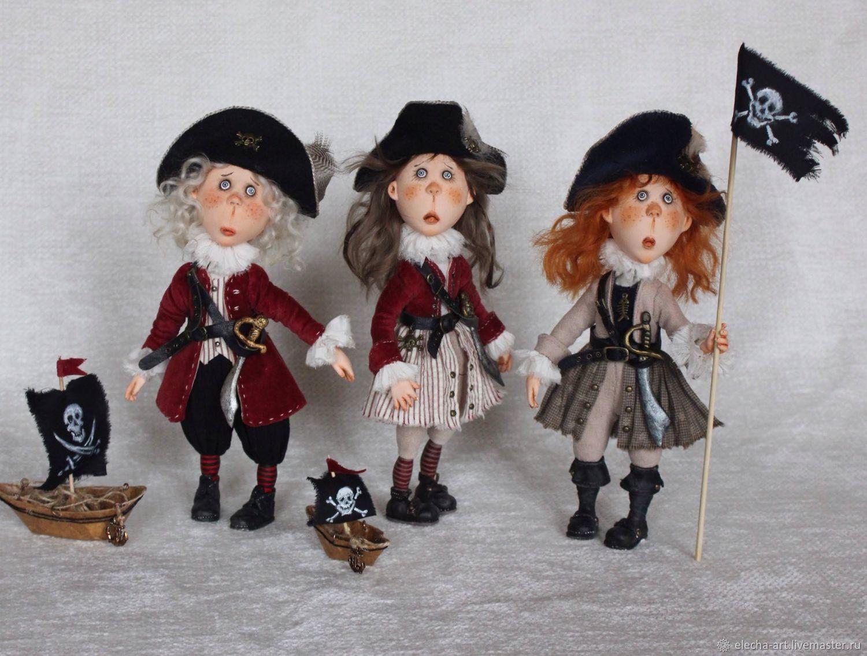 Пиратик. Коллекционная кукла, Куклы, Санкт-Петербург, Фото №1