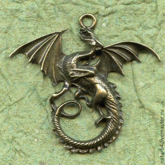 Для украшений ручной работы. Ярмарка Мастеров - ручная работа. Купить Дракон 2. Handmade. Украшения ручной работы