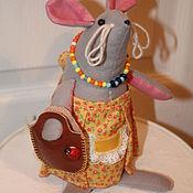 Мягкие игрушки ручной работы. Ярмарка Мастеров - ручная работа Игрушки Мышки - подружки. Handmade.