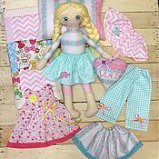 Куклы и игрушки ручной работы. Ярмарка Мастеров - ручная работа Кукла игровая с одеждой. Handmade.