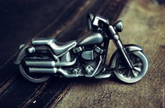 Пояса, ремни ручной работы. Ярмарка Мастеров - ручная работа. Купить Пряжка для ремня Байк Мотоцикл. Handmade. Пряжка
