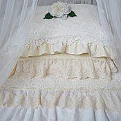 Для дома и интерьера ручной работы. Ярмарка Мастеров - ручная работа Постельное белье в стиле шебби шик. Handmade.