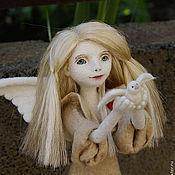 Куклы и игрушки ручной работы. Ярмарка Мастеров - ручная работа Ангел мира. Handmade.