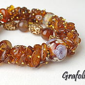 Украшения handmade. Livemaster - original item Amber beads. Handmade.