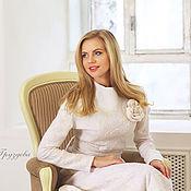 "Одежда ручной работы. Ярмарка Мастеров - ручная работа ""Белая Роза""  юбка+ блуза валяние. Handmade."