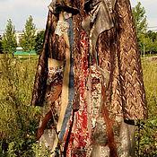 Одежда ручной работы. Ярмарка Мастеров - ручная работа СКИДКА - 9700  - пальто ПОД НЕБОМ ГОЛУБЫМ. Handmade.