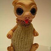 """Куклы и игрушки ручной работы. Ярмарка Мастеров - ручная работа Неизвестная зверушка """"Пучеглазик"""". Handmade."""