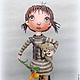 Коллекционные куклы ручной работы. Ярмарка Мастеров - ручная работа. Купить Принцесса. Авторская интерьерная кукла.. Handmade. Кукла интерьерная