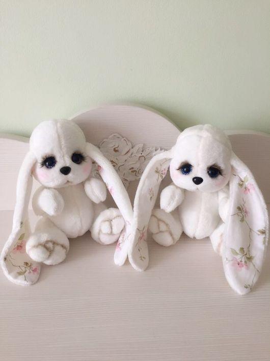 Куклы и игрушки ручной работы. Ярмарка Мастеров - ручная работа. Купить Нежный зайчик. Handmade. Зайка, подарок на новый год