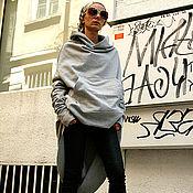 Пальто ручной работы. Ярмарка Мастеров - ручная работа Серое спортивное пальто. Handmade.