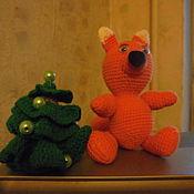 """Куклы и игрушки ручной работы. Ярмарка Мастеров - ручная работа игрушка крючком """"Бельчонок Тим"""". Handmade."""