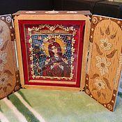 Картины и панно ручной работы. Ярмарка Мастеров - ручная работа Киот (или рака для хранения мощей). Handmade.