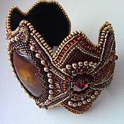 Украшения handmade. Livemaster - original item Beaded bracelet with simbircite