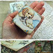 """Куклы и игрушки ручной работы. Ярмарка Мастеров - ручная работа Кубики """"Верные друзья"""" (2). Handmade."""